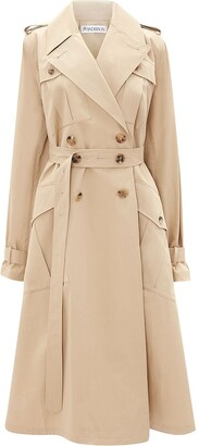 J.W.Anderson Double-Breasted Belted Trench Coat