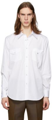 Cobra S.C. White Poplin Ranger Shirt