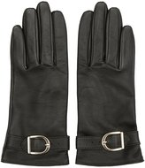 Reiss Albany - Buckle-detail Gloves in Green, Womens