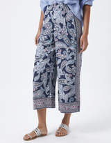 Monsoon Ellie Patch Print Crop Trousers