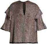 Isabel Marant Basile sequin-embellished top