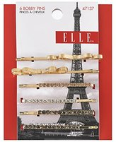 Elle 6 Piece Assorted Bobby Pins