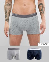 Selected Homme 2 Pack Trunk In Spot
