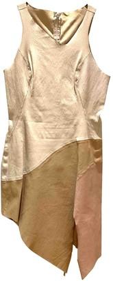 Jitrois White Leather Dress for Women