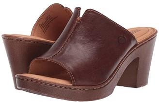 Børn Wenaha (Brown Full Grain Leather) Women's Sandals