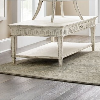 Hooker Furniture Cadence Solid Wood Coffee Table with Storage