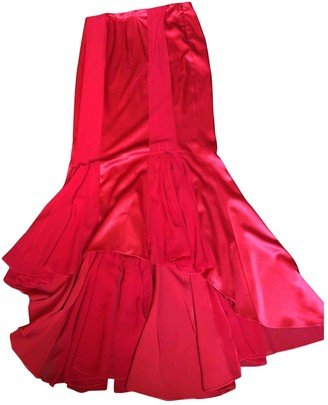 Ungaro Red Silk Skirts
