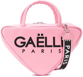 Gaelle Paris Kids Logo Print Shoulder Bag