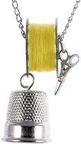 Schmuckzeug Women's Sewing Kit Necklace