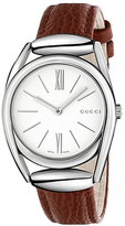 Gucci Horsebit Collection YA140403 Women's Leather Strap Watch