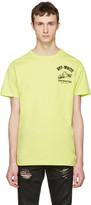 Off-White Green Construction T-shirt