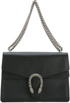 Gucci embellished clasp shoulder bag