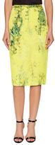 Tracy Reese Silk Smock Print Sheath Skirt