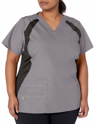 WONDERWINK Women's Origins Lima Plus Size Scrub Top