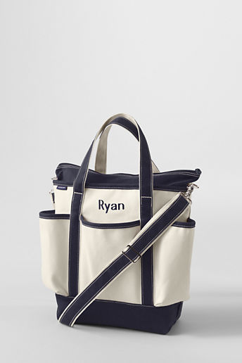 Lands' End Canvas Diaper Bag