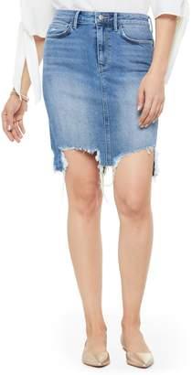 Sam Edelman Riley Destroyed Denim Skirt