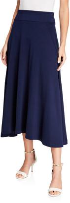 Joan Vass Petite Long Skirt