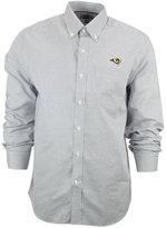 Cutter & Buck Men's Los Angeles Rams Tattersall Dress Shirt
