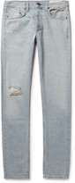 Rag & Bone - Fit 2 Slim Distressed Selvedge Denim Jeans