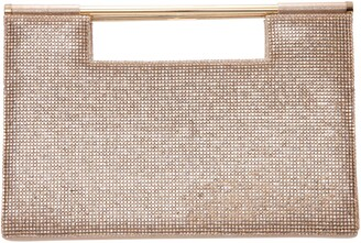 Nina Crystal Embellished Top Handle Bag