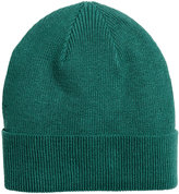 H&M Rib-knit Hat - Green - Men