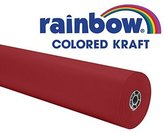Pacon Corporation Pac66031 Rainbow Kraft Roll 100 Ft