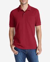 Eddie Bauer Men's Field Short-Sleeve Pocket Polo Shirt