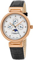Stuhrling Original Womens Gray Strap Watch-Sp16304