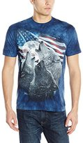 The Mountain Men's Wolf Trinity Adult T-Shirt