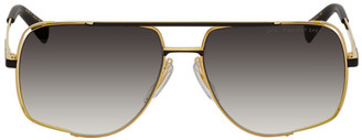 Dita Gold and Black Midnight Special Sunglasses