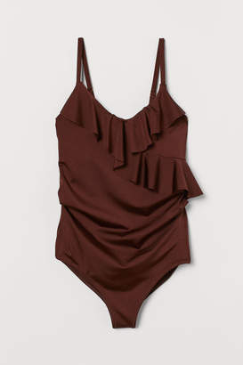 H&M MAMA Swimsuit with Ruffles