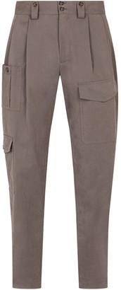 Dolce & Gabbana Cotton-Blend Cargo Pants
