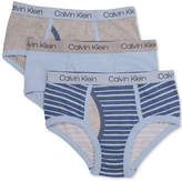 Calvin Klein 3-Pk. Cotton Briefs, Toddler Boys, Little Boys & Big Boys