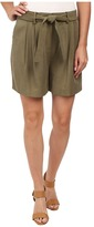 Vince Camuto Belted Shorts w/ Pleats