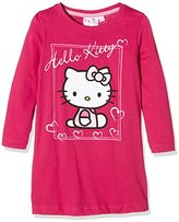 Hello Kitty Girl's Love Heart Pyjama T-Shirt