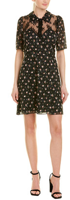 Anna Sui Blooming Buds A-Line Dress