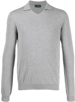 Zanone Collar V-Neck Jumper