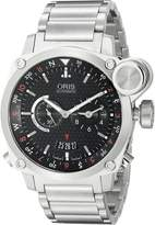 Oris Men's 01 690 7615 4164 07 8 22 58 BC4 Flight Timer Dial Watch