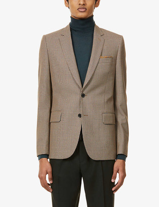 Paul Smith Houndstooth Soho-fit wool jacket