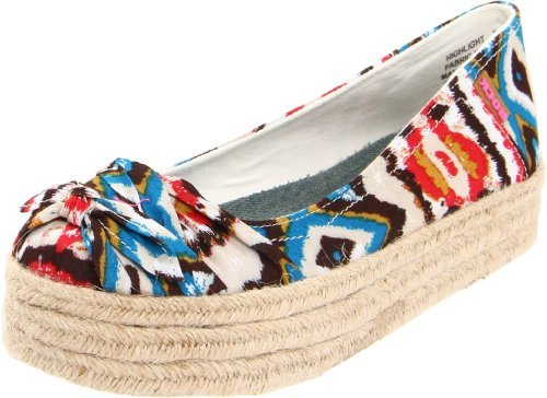 Rock & Candy Women's Highlight Closed-Toe Espadrille