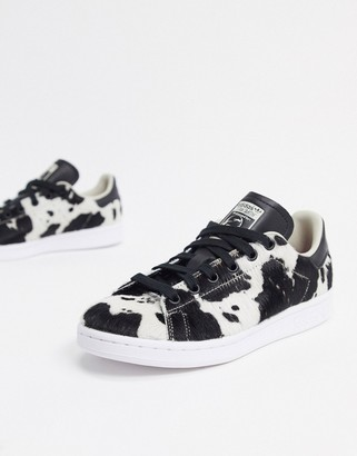 adidas Stan Smith sneakers in animal print