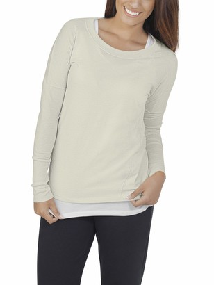 Fruit of the Loom Women's Essentials All Day Long Sleeve Scoop Neck T-Shirt