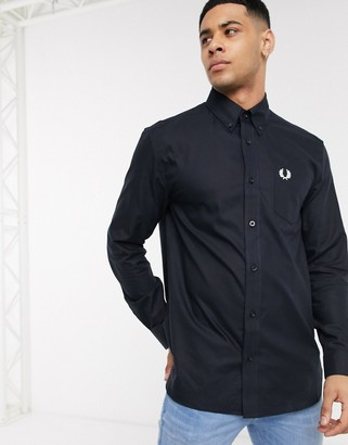 Fred Perry oxford shirt in navy