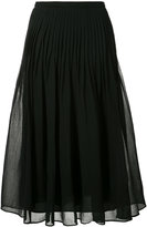 Fabiana Filippi pleated skirt - women - Silk/Cotton - 40