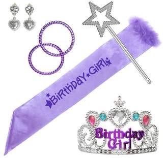 Expressions 6pc Birthday Girl Costume Set