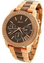 DKNY Glitz Mother-of-Pearl Dial Women's Watch #NY8433