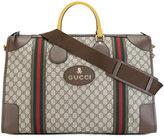 Gucci signature logo print holdall