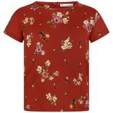 Dolce & Gabbana Dolce & GabbanaGirls Red Floral Ladybug Top