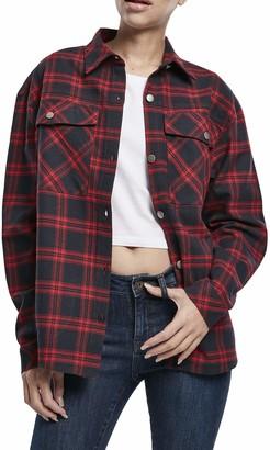 Urban Classics Women's Ladies Oversized Overshirt Shirt