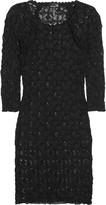 Dali stretch-lace mini dress